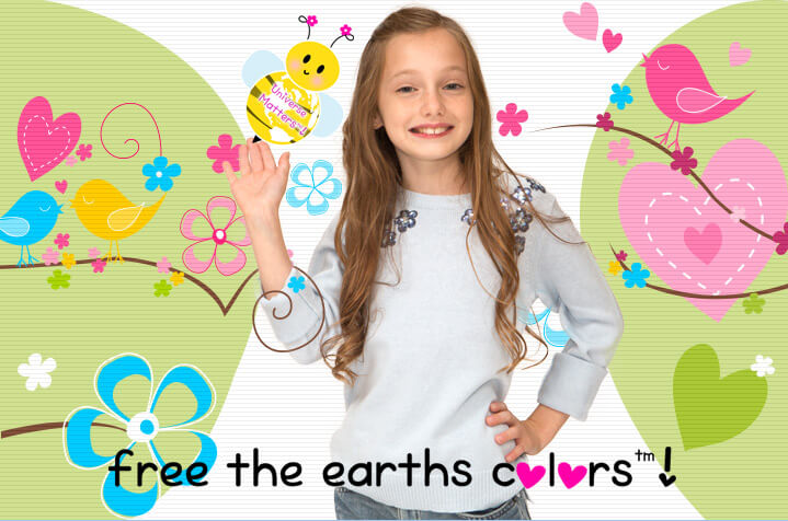 Free the earths colors